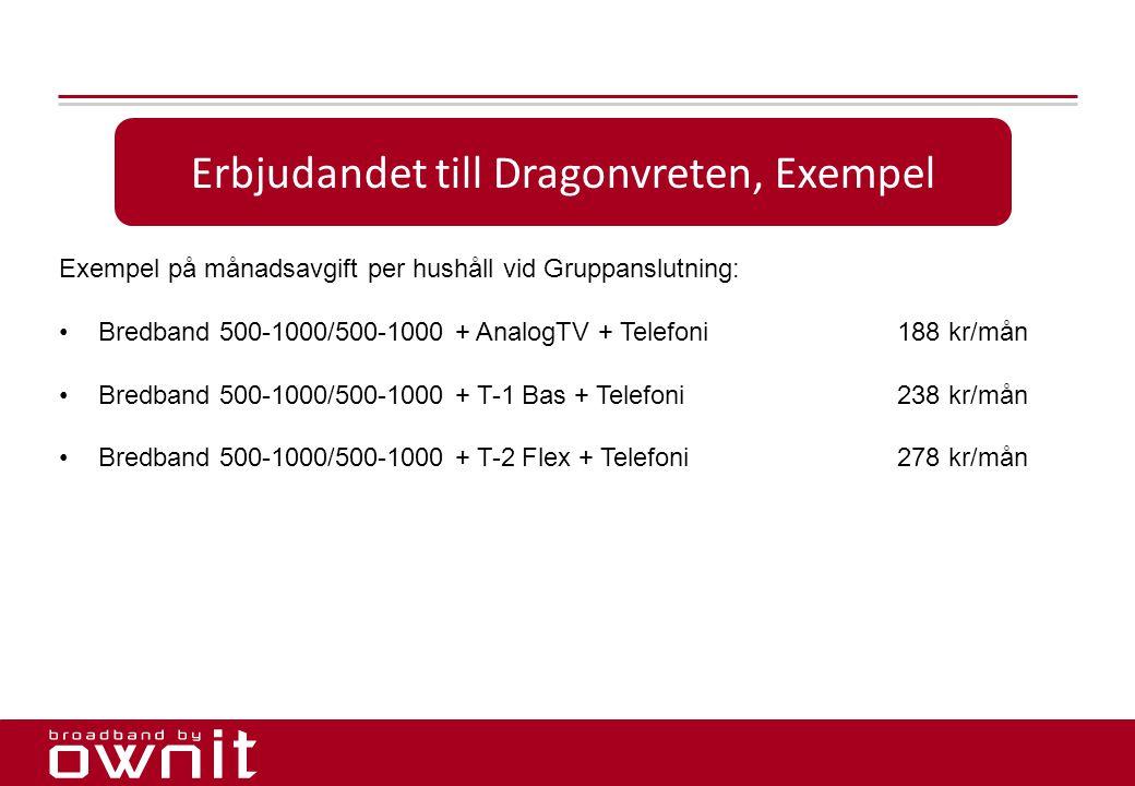 Erbjudandet till Dragonvreten, Exempel