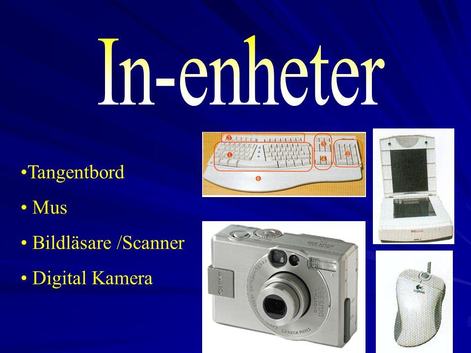 In-enheter Tangentbord Mus Bildläsare /Scanner Digital Kamera