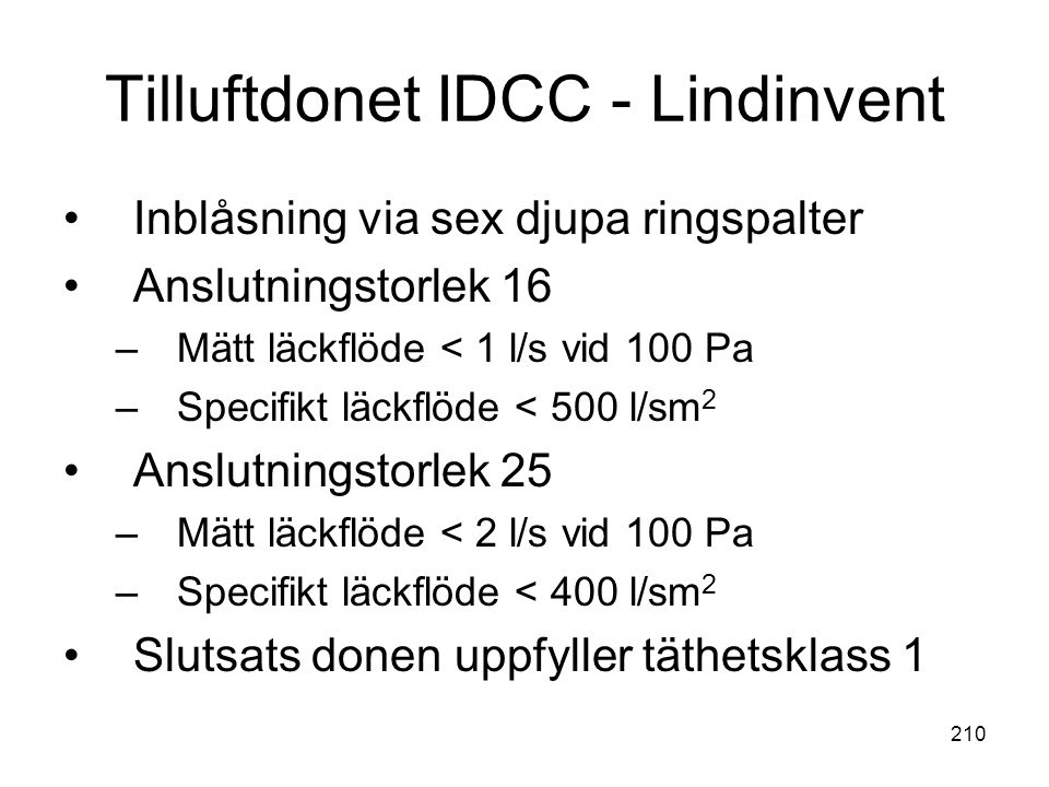 Tilluftdonet IDCC - Lindinvent