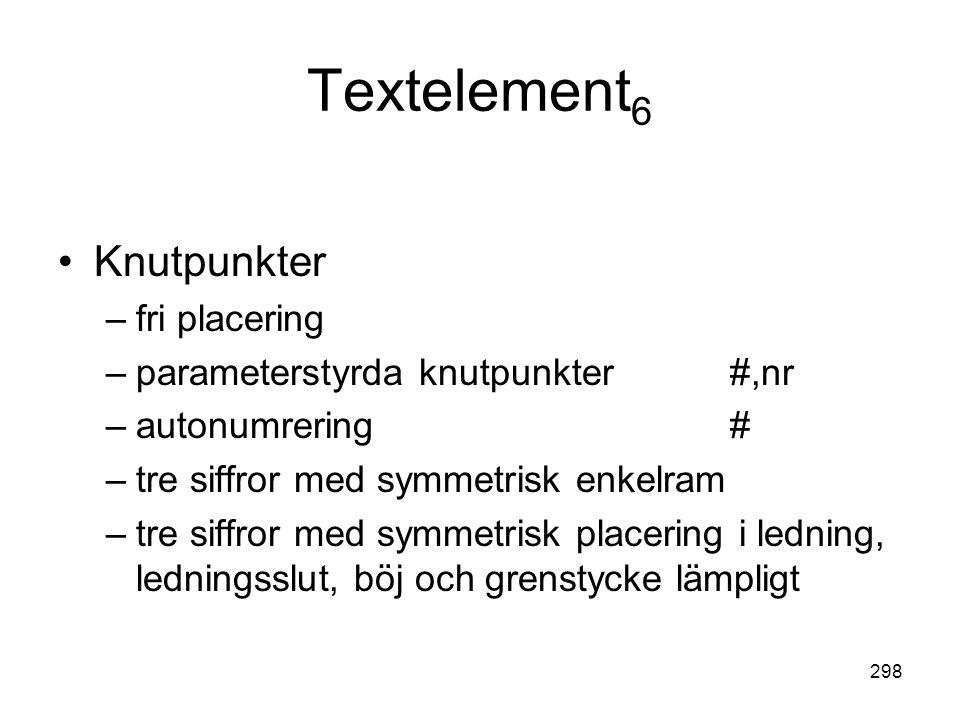 Textelement6 Knutpunkter fri placering