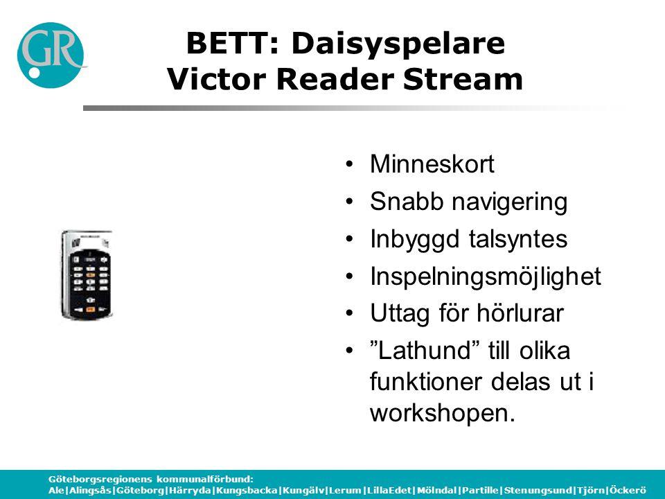 BETT: Daisyspelare Victor Reader Stream
