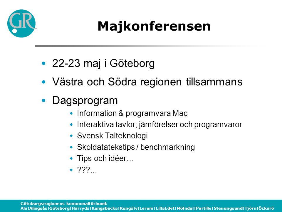 Majkonferensen 22-23 maj i Göteborg