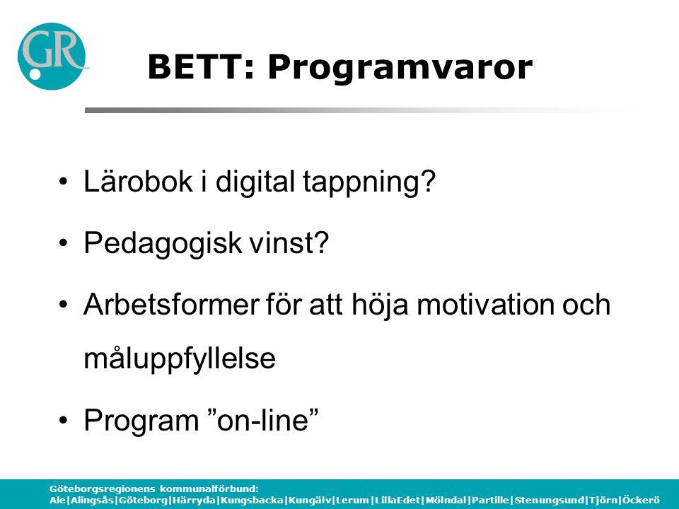 BETT: Programvaror Lärobok i digital tappning Pedagogisk vinst