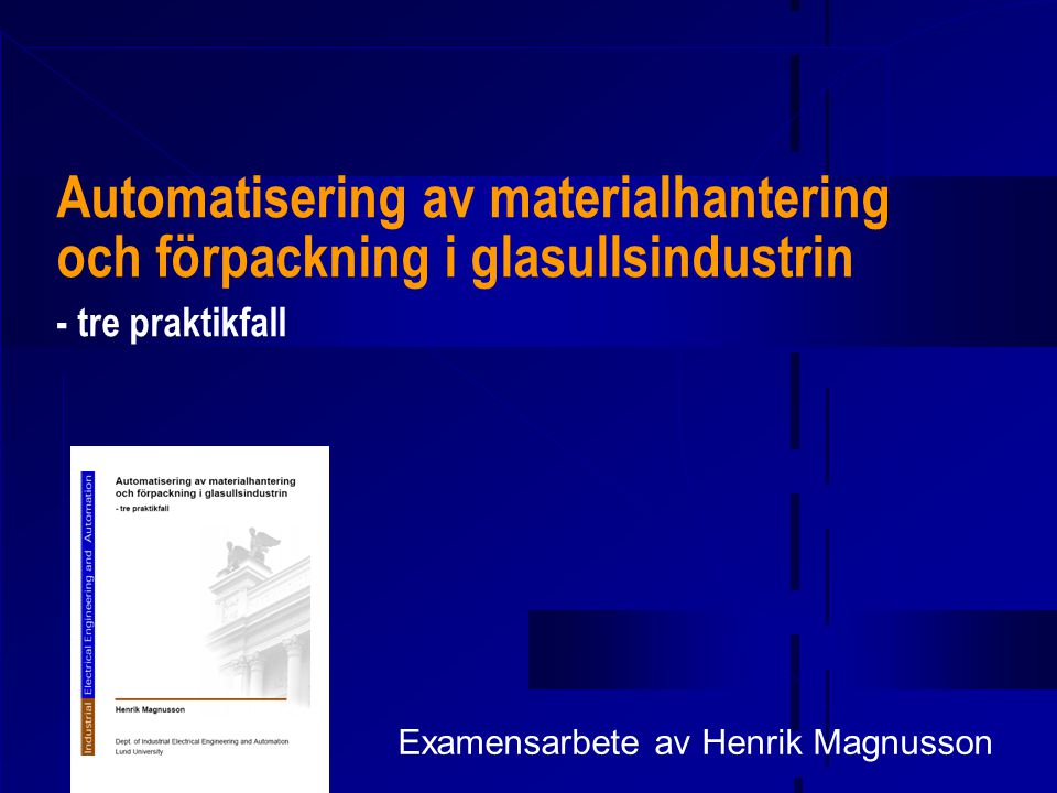 Examensarbete av Henrik Magnusson