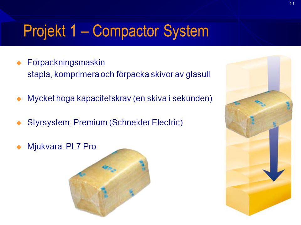 Projekt 1 – Compactor System