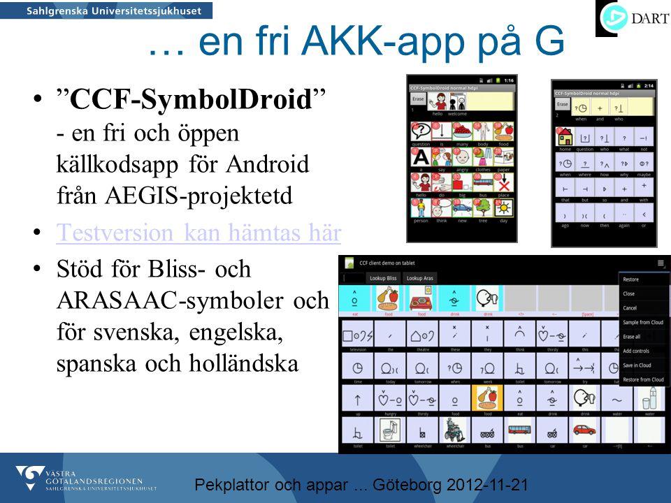 … en fri AKK-app på G CCF-SymbolDroid - en fri och öppen källkodsapp för Android från AEGIS-projektetd.