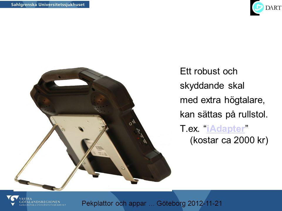 T.ex. iAdapter (kostar ca 2000 kr)