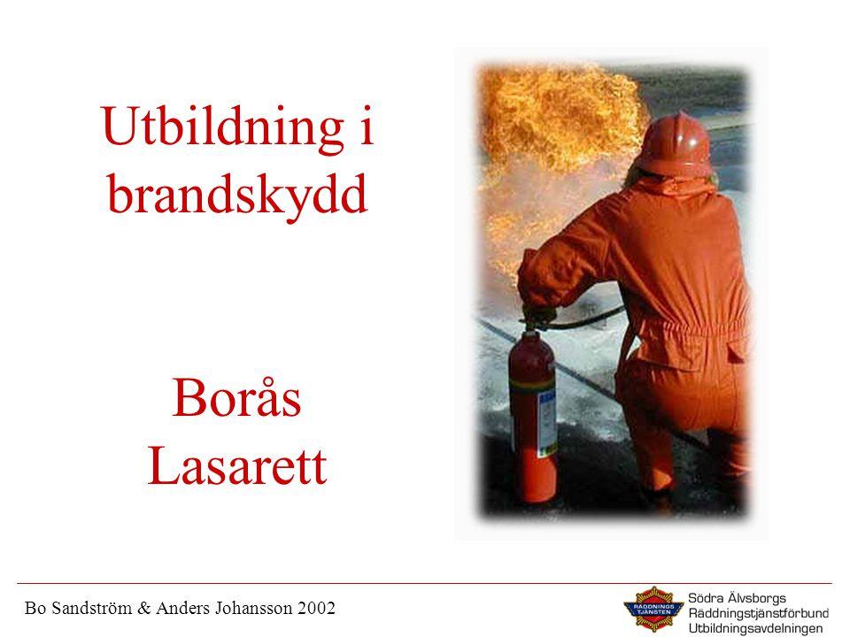 Utbildning i brandskydd