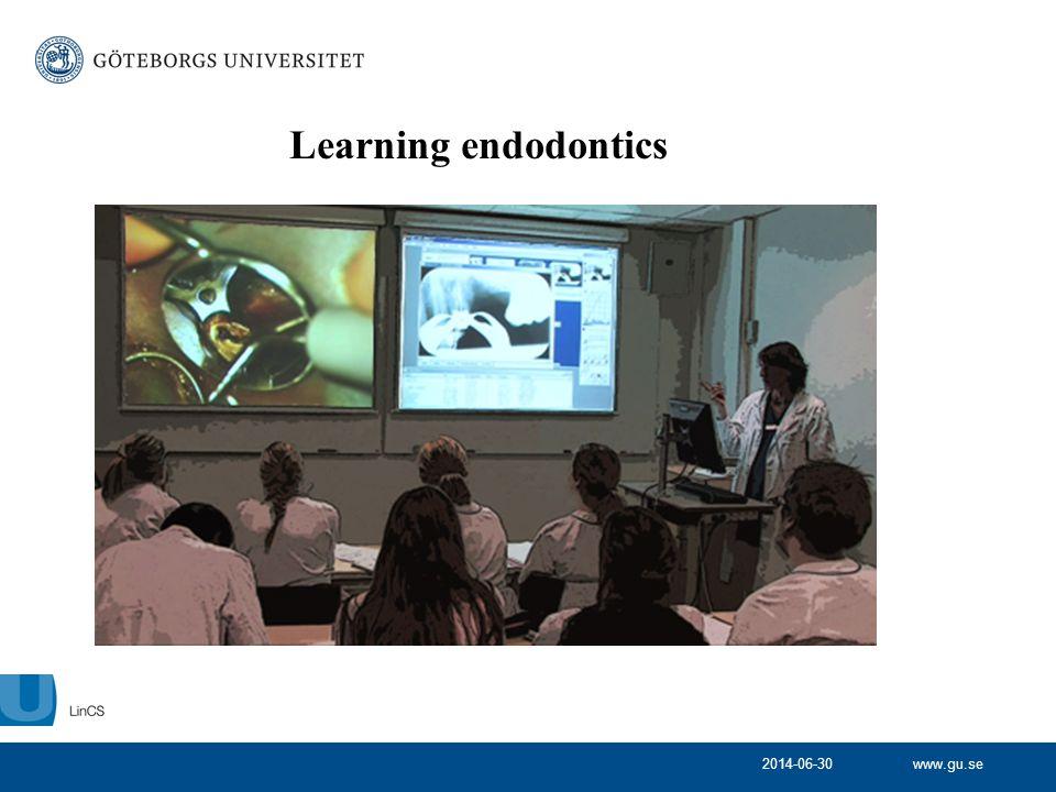 Learning endodontics 2017-04-03