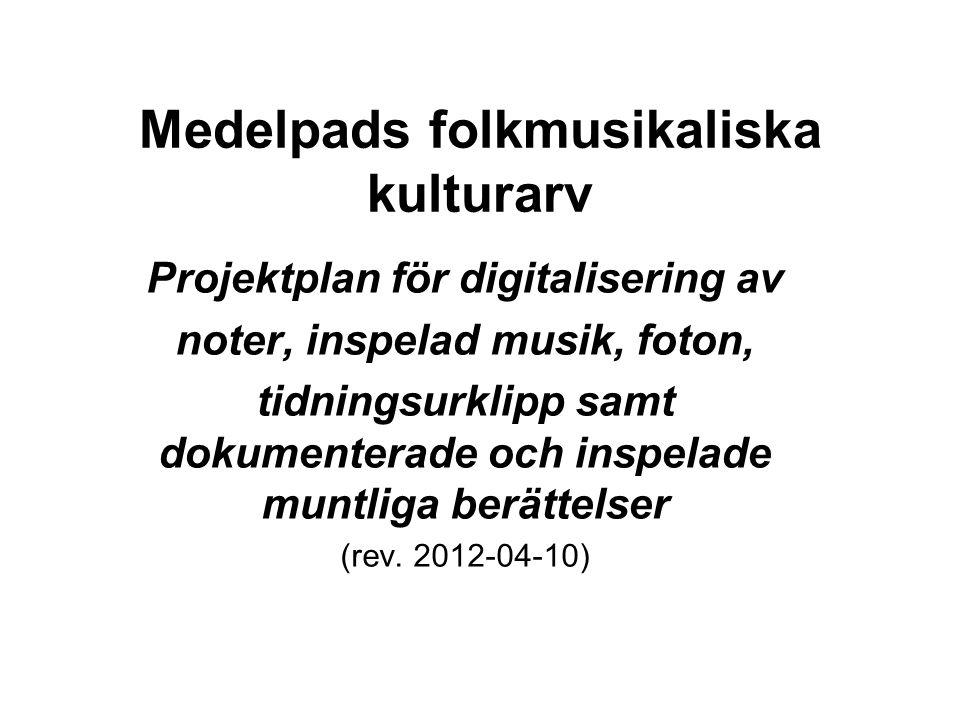 Medelpads folkmusikaliska kulturarv