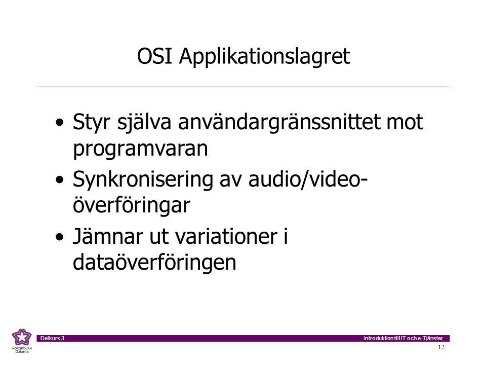OSI Applikationslagret