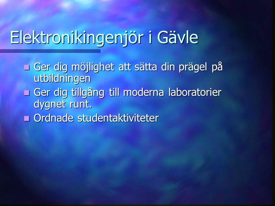 Elektronikingenjör i Gävle