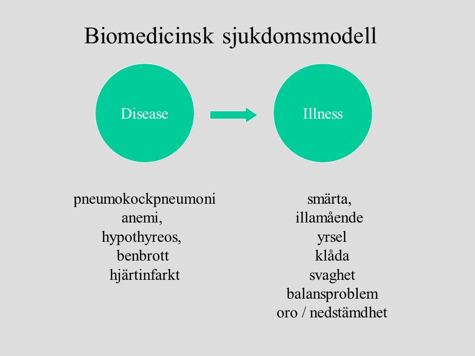 Biomedicinsk sjukdomsmodell