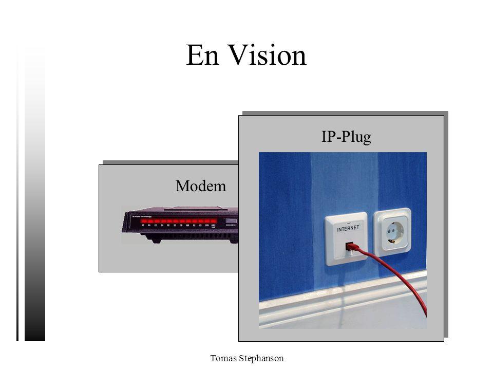 En Vision IP-Plug Modem Tomas Stephanson