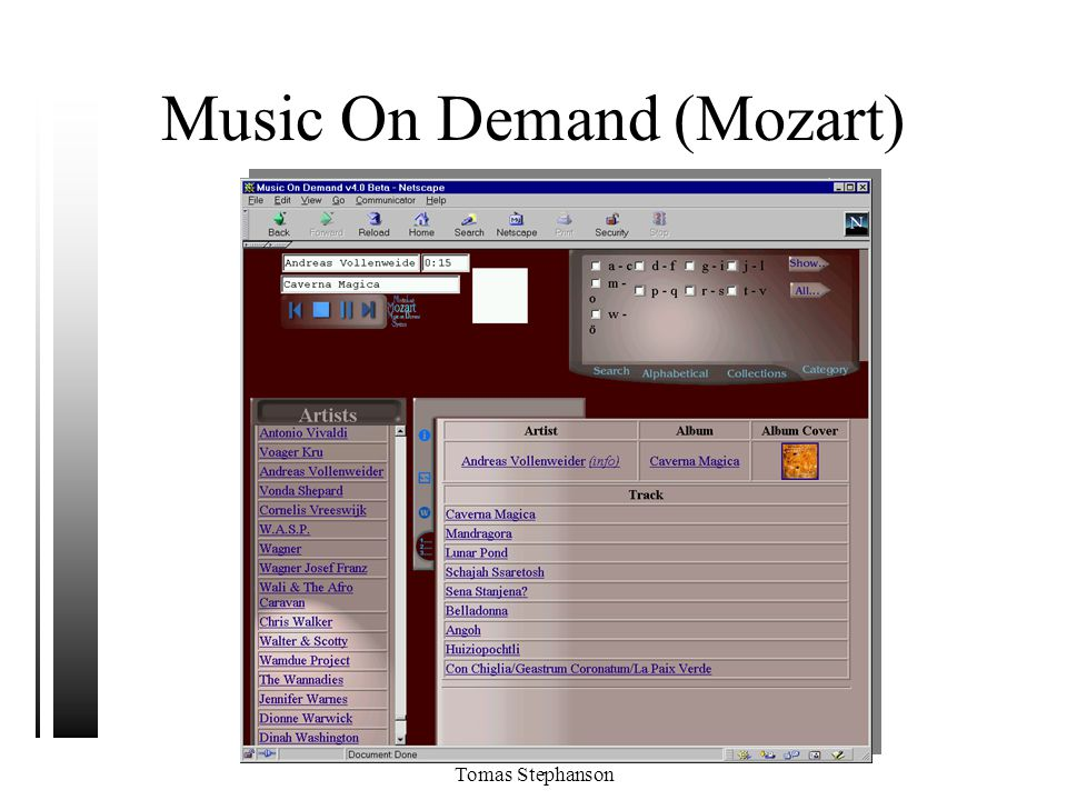 Music On Demand (Mozart)