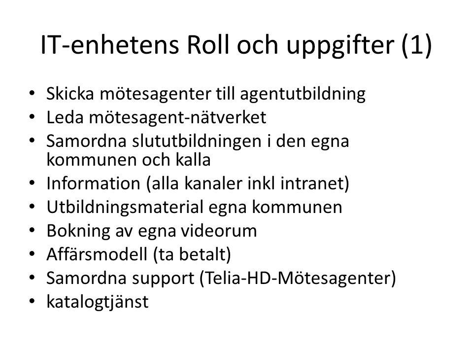 IT-enhetens Roll och uppgifter (1)