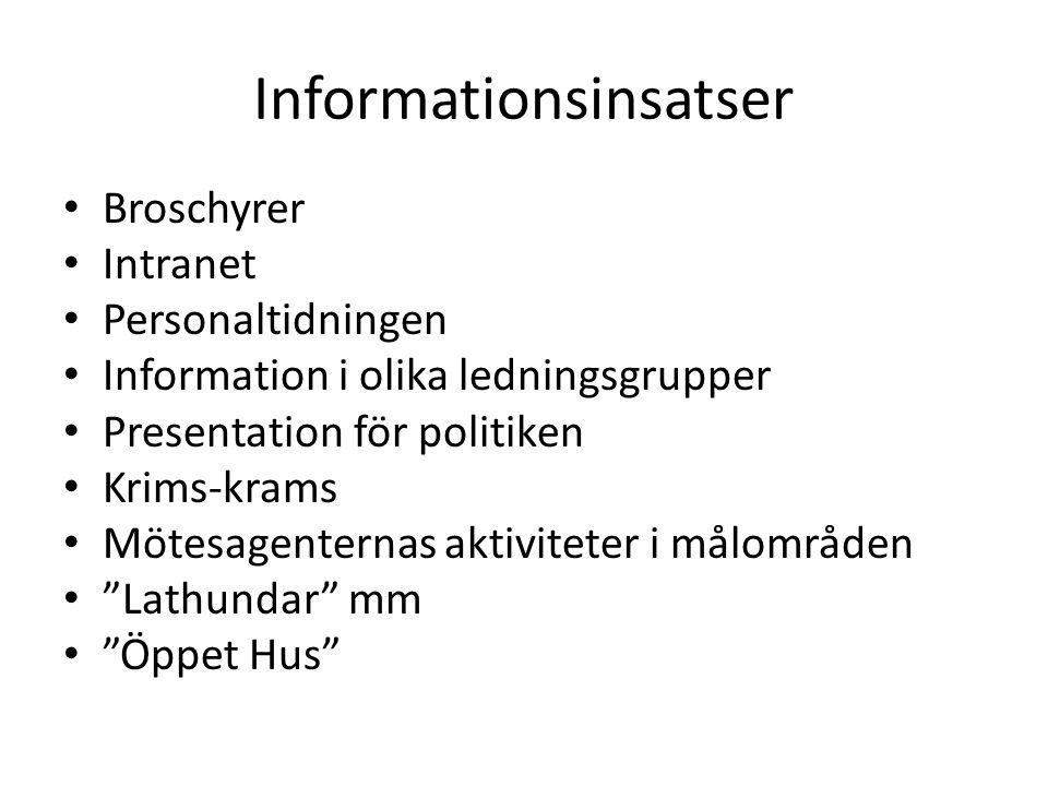 Informationsinsatser