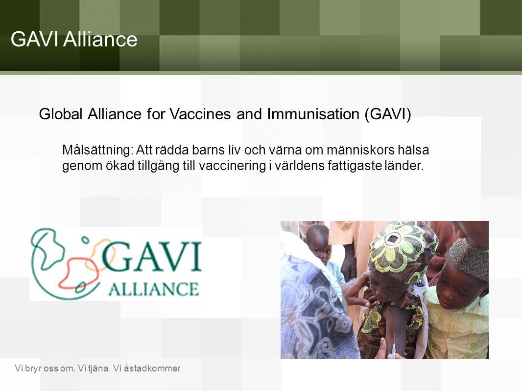 GAVI Alliance Global Alliance for Vaccines and Immunisation (GAVI)