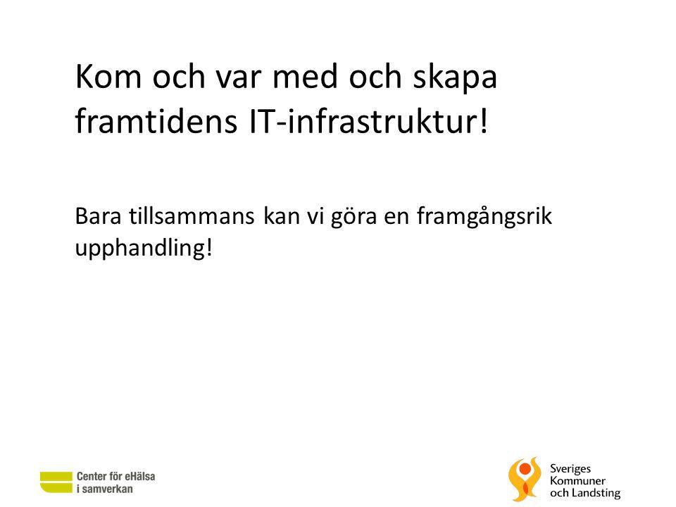 Kom och var med och skapa framtidens IT-infrastruktur!