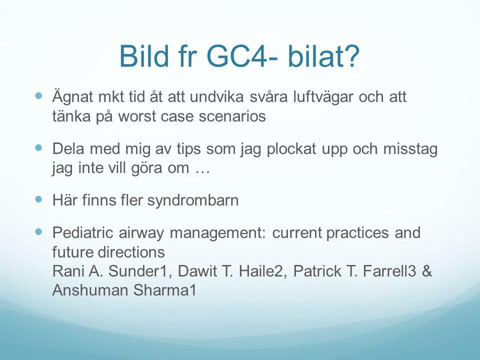 Bild fr GC4- bilat Ägnat mkt tid åt att undvika svåra luftvägar och att tänka på worst case scenarios.