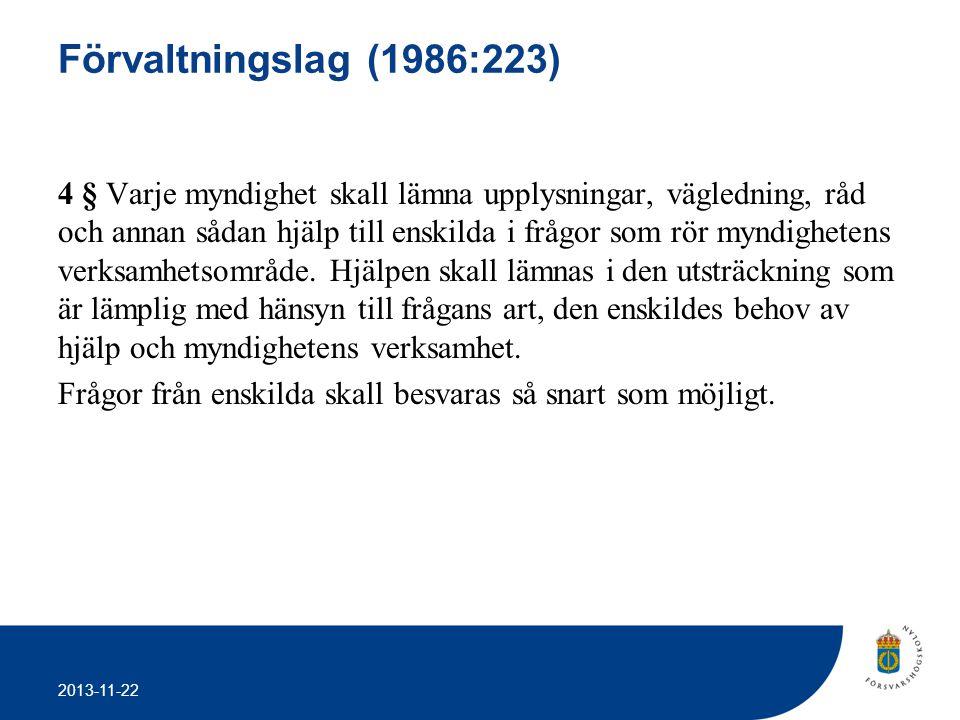 Förvaltningslag (1986:223)