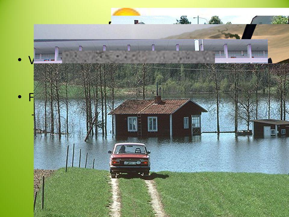 Framtiden Växthuseffekten FN:s klimatprognos Varmare Torrare