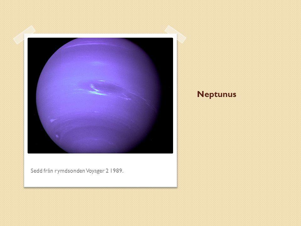 Neptunus Sedd från rymdsonden Voyager 2 1989.