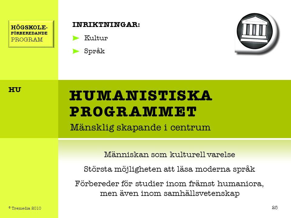 HUMANISTISKA PROGRAMMET