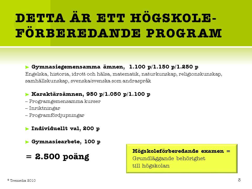 DETTA ÄR ETT HÖGSKOLE-FÖRBEREDANDE PROGRAM