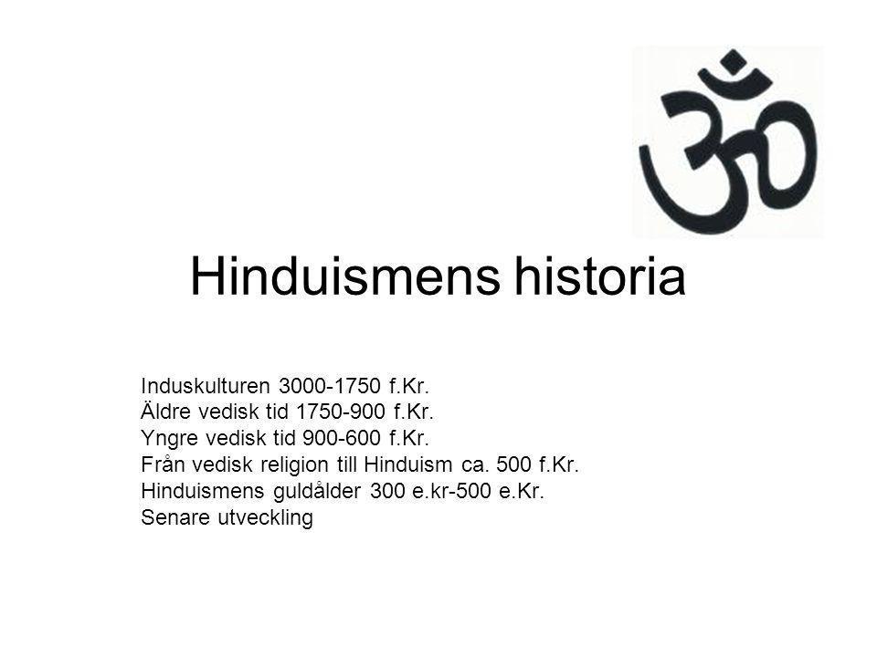Hinduismens historia Induskulturen 3000-1750 f.Kr.
