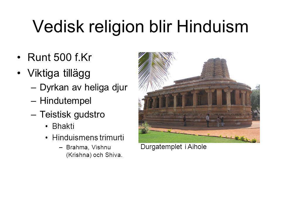 Vedisk religion blir Hinduism