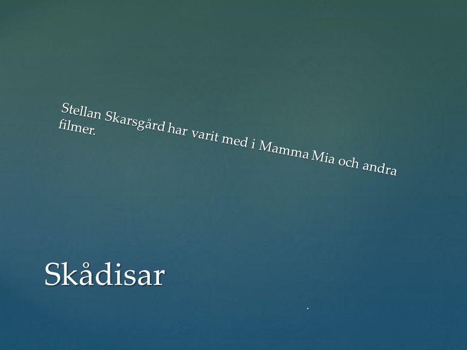 Skådisar Stellan Skarsgård har varit med i Mamma Mia och andra filmer.