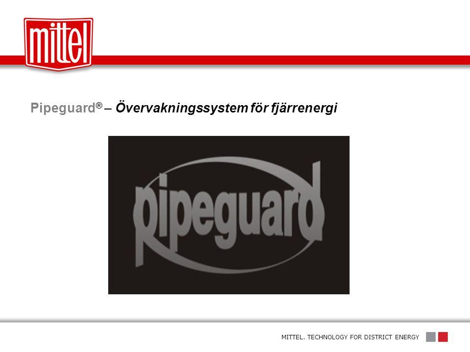 Pipeguard® – Övervakningssystem för fjärrenergi