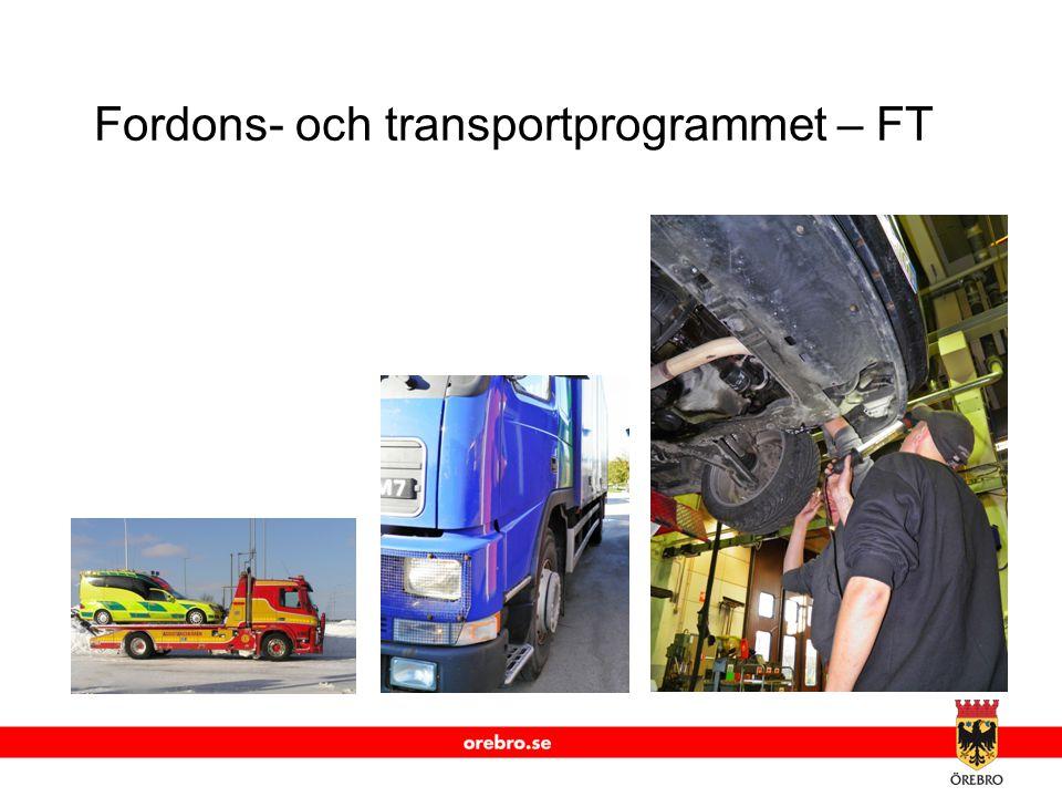 Fordons- och transportprogrammet – FT