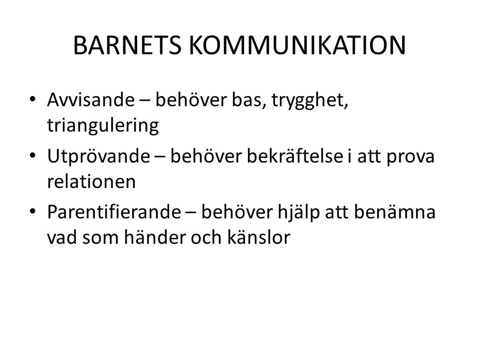 BARNETS KOMMUNIKATION