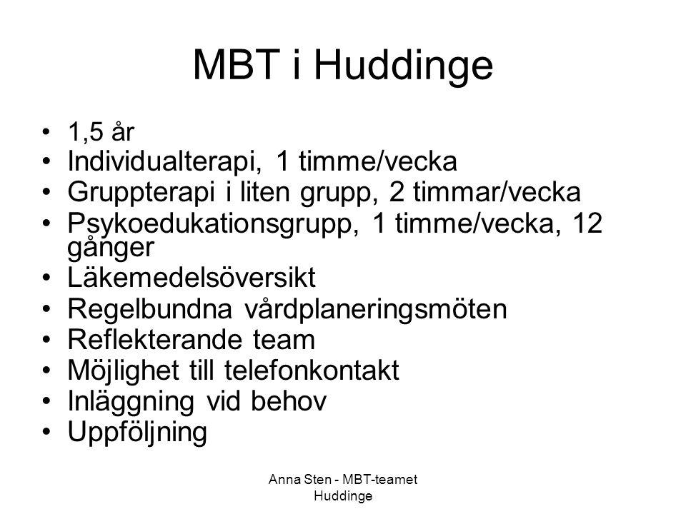 Anna Sten - MBT-teamet Huddinge