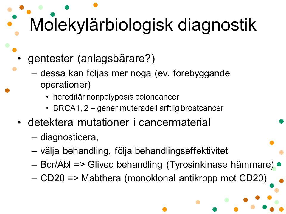Molekylärbiologisk diagnostik