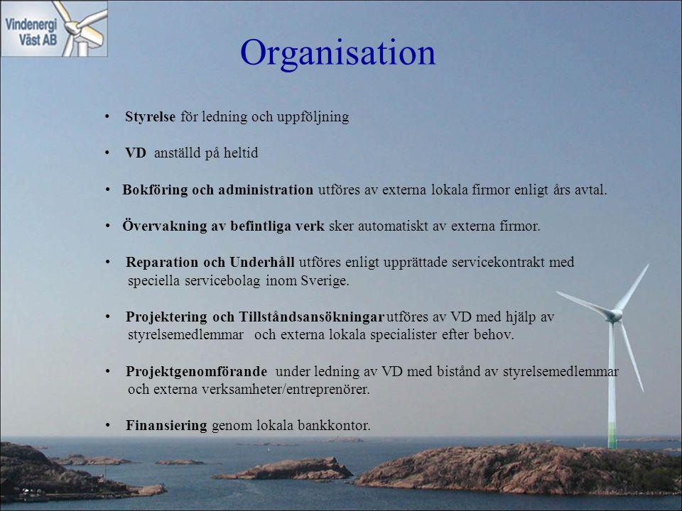 Organisation Styrelse för ledning och uppföljning