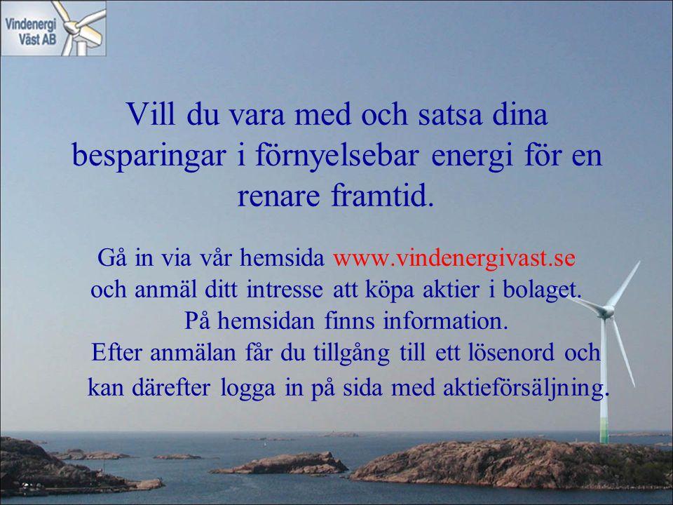 Vill du vara med och satsa dina besparingar i förnyelsebar energi för en renare framtid.