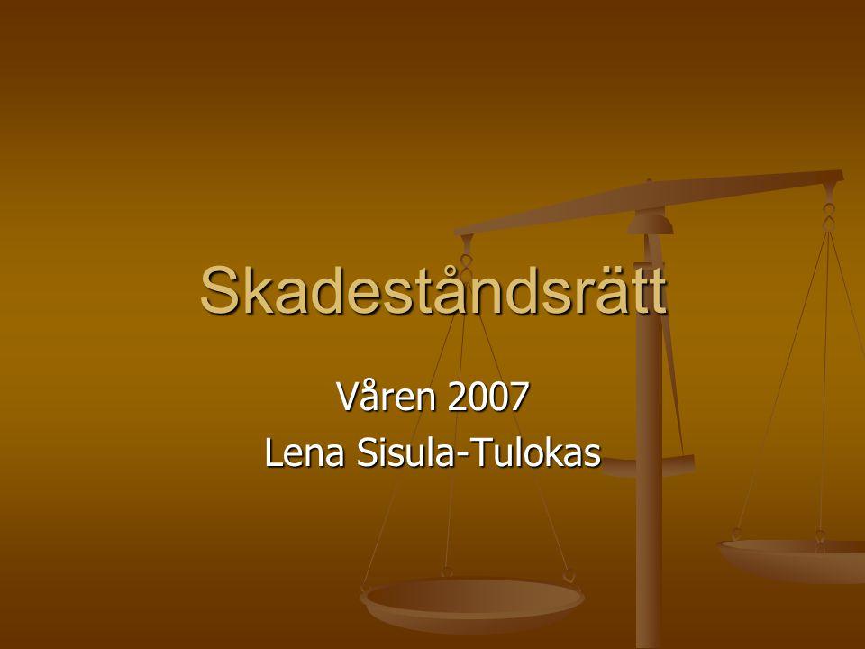 Våren 2007 Lena Sisula-Tulokas