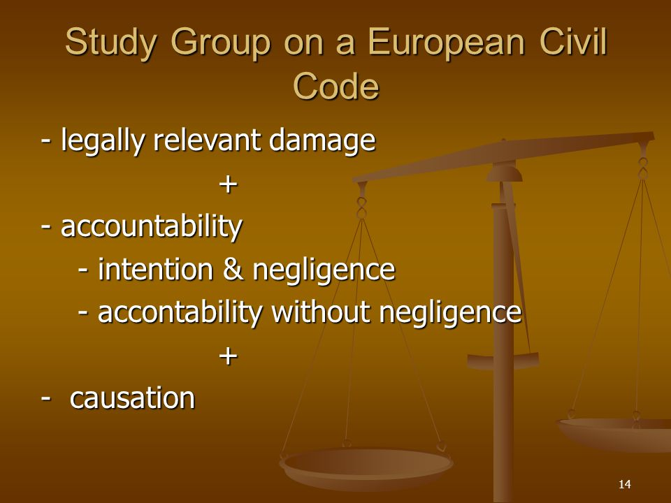Study Group on a European Civil Code