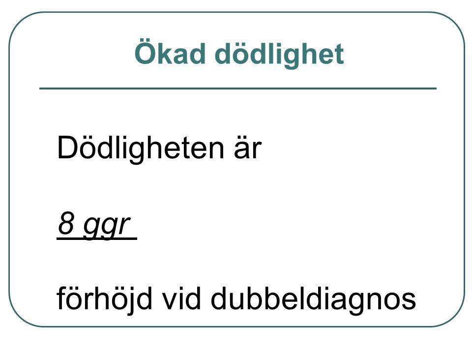 förhöjd vid dubbeldiagnos