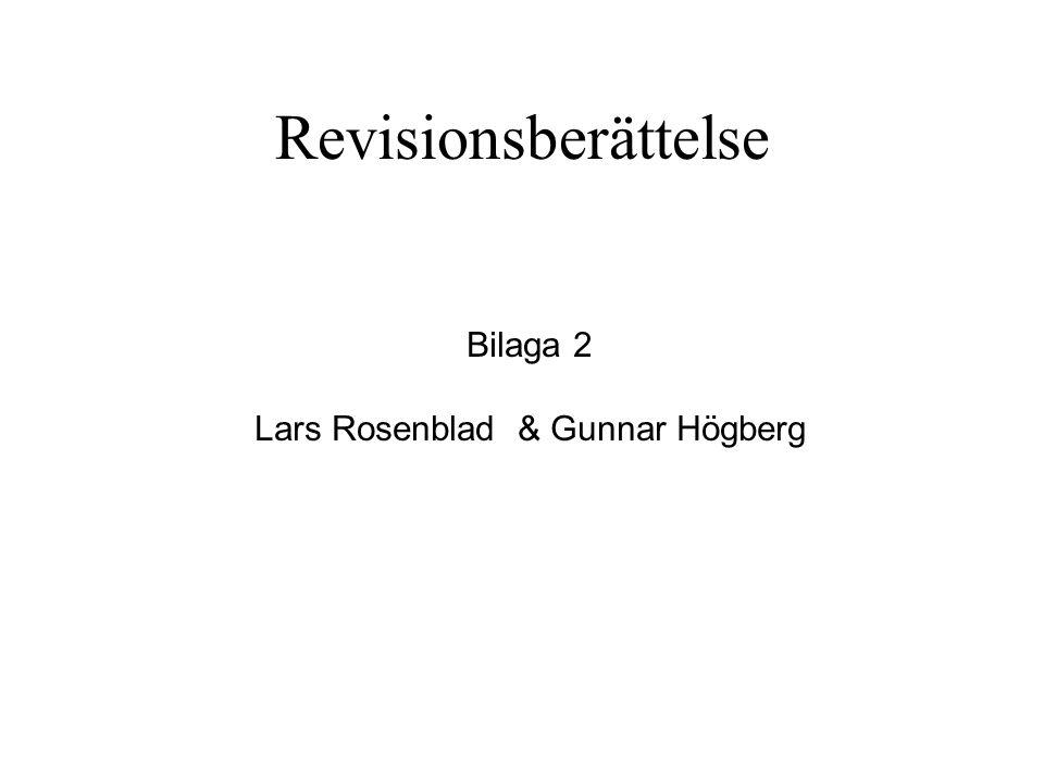 Lars Rosenblad & Gunnar Högberg