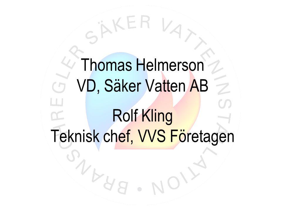 Teknisk chef, VVS Företagen