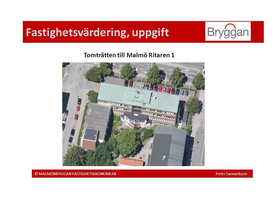Fastighetsvärdering, uppgift
