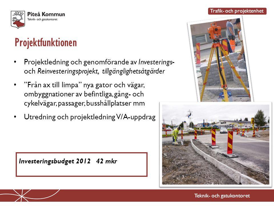 Trafik- och projektenhet