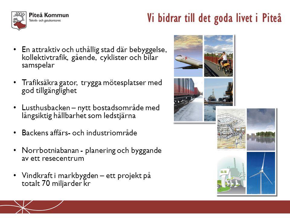 Vi bidrar till det goda livet i Piteå