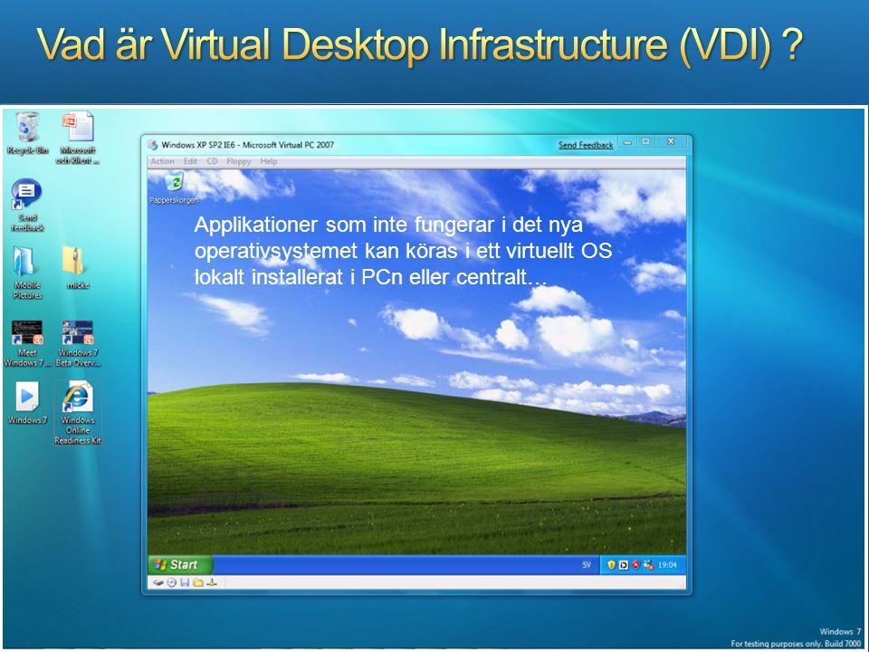 Vad är Virtual Desktop Infrastructure (VDI)