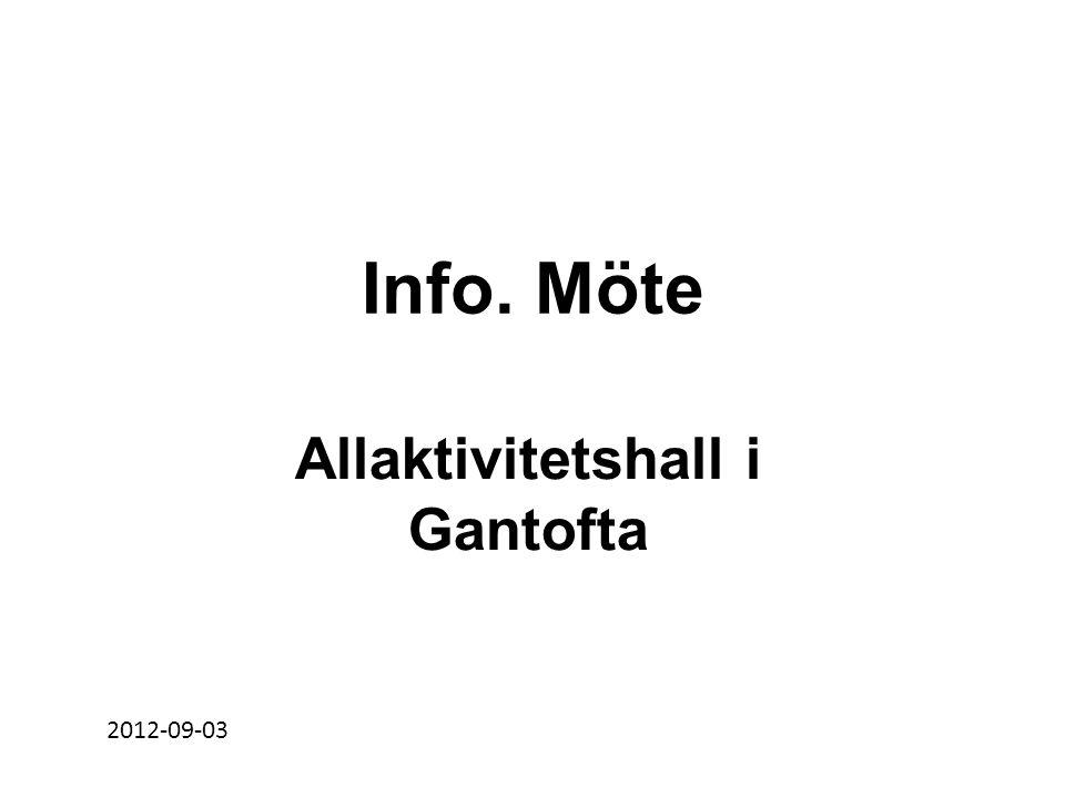 Allaktivitetshall i Gantofta