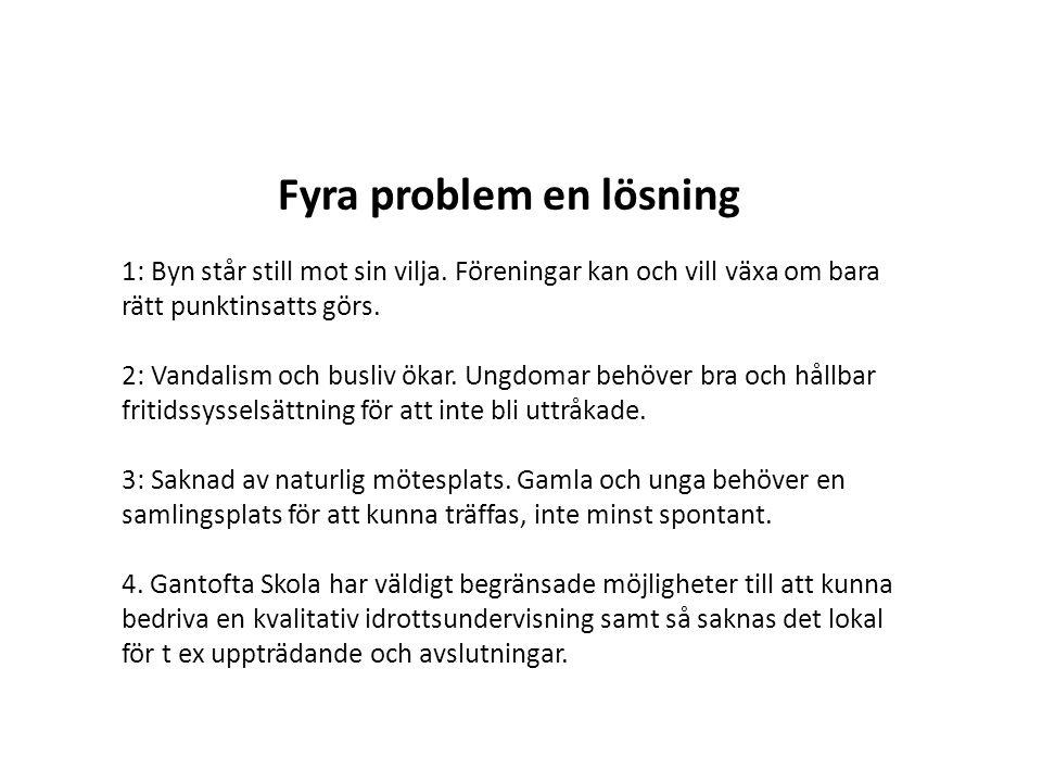 Fyra problem en lösning